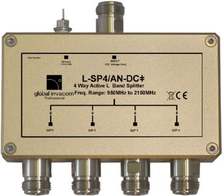 L Band 4 Way Active Splitter
